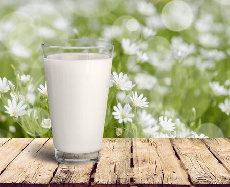 Milk. Stock Photo