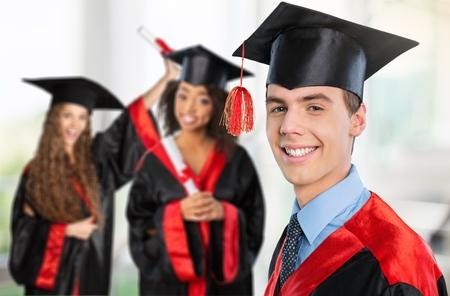 Happy graduate. photo