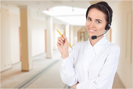 Call center. photo