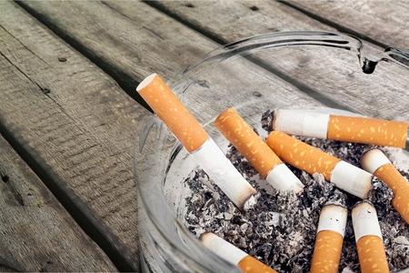 タバコ。 写真素材