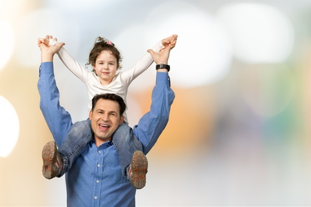 Father and child. photo