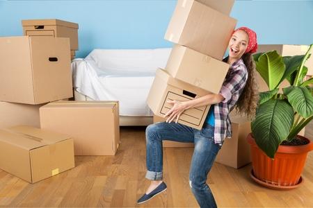 Moving house. photo
