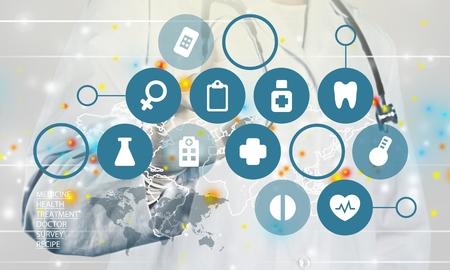 革新の医学。 写真素材