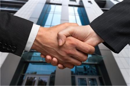 Handshake. Banque d'images