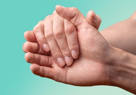 Human hand. Imagens