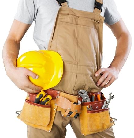 Repairman. Stock Photo
