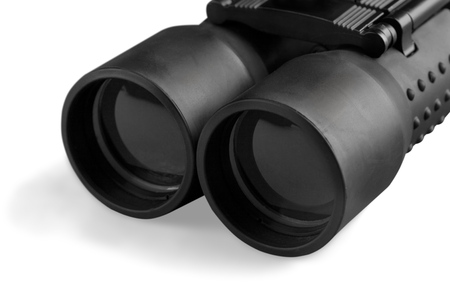 Binoculars. Stock Photo