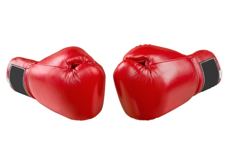Boxing glove. Stock Photo