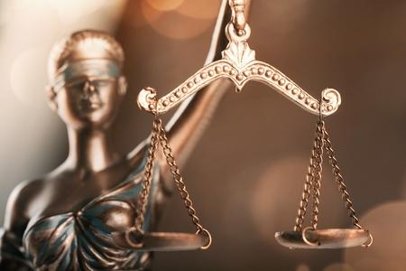 Statue justice. Stock Photo