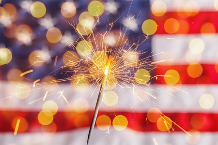 Fourth of july. Stock Photo