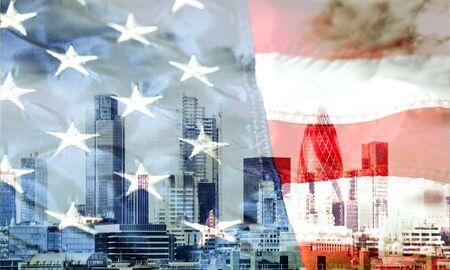 American Flag Closeup Banque d'images