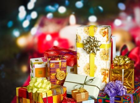 Christmas Presents Banque d'images