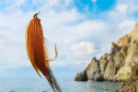 Fly-fishing.