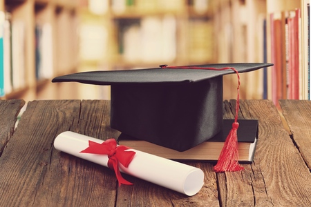 Academic College Degree Education Insight Concept 스톡 콘텐츠