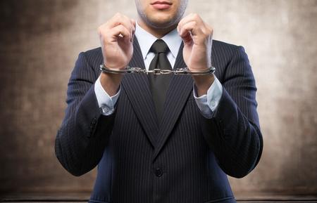 Corporate crime Stock Photo - 90951080