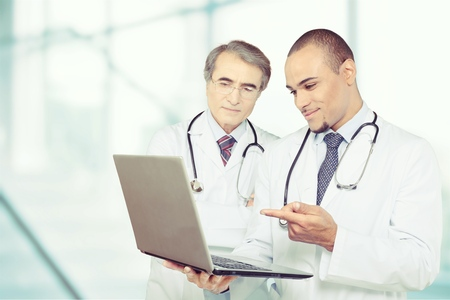 Digitales Krankenhaus Standard-Bild - 90952057