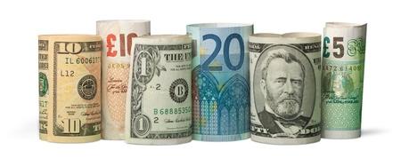 International Currency Stockfoto