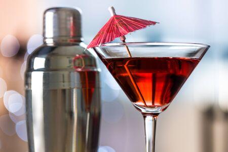 Cocktails Reklamní fotografie