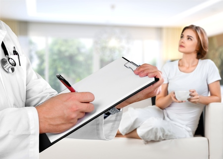 Professional psychologist conducting a consultation