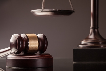 Legal system. Law and justice concept Stock Photo