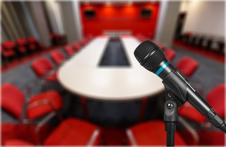 Microphone soft focus on blur