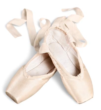 Balletschoenen Stockfoto