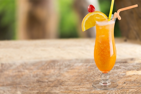 cocktail series: Bahama Mama. Stock Photo