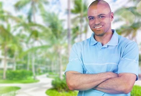 happy smiling man Stock Photo