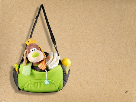 Bag with toy