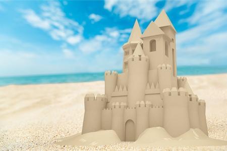 Sandcastle Фото со стока