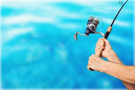 Fishing. Stock Photo