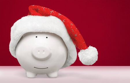 Christmas Savings Horizontal Stock Photo