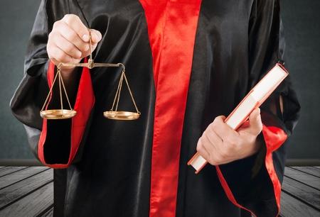 Rechter op zwarte achtergrond Stockfoto