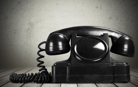Bakelite phone Stock Photo