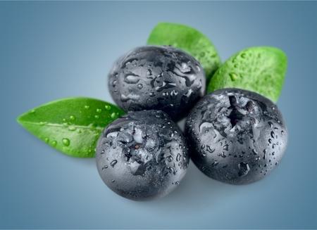 Blueberries. Banque d'images