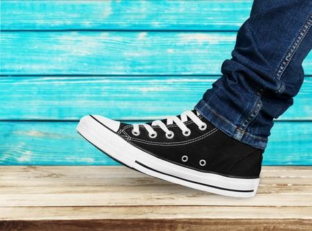 Purple Shoe Stepping