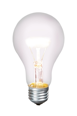 Standard Incandescent Bulb - Isolated