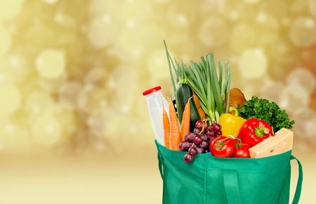Friendly reusable shopping bag