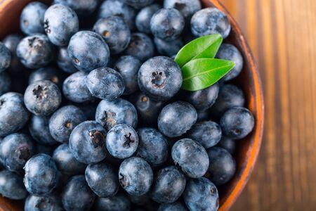 Fresh blueberries Standard-Bild