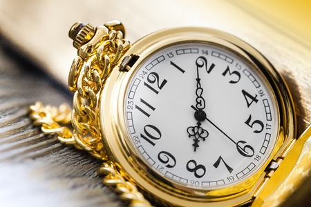 Decorative pocket watch Stock Photo