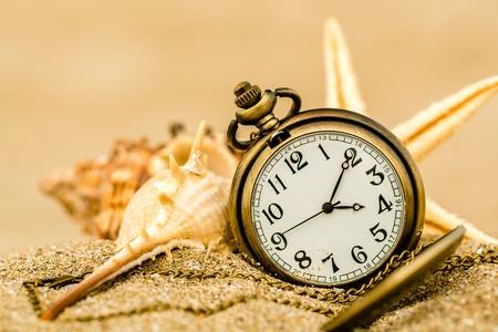 time clock photo Standard-Bild