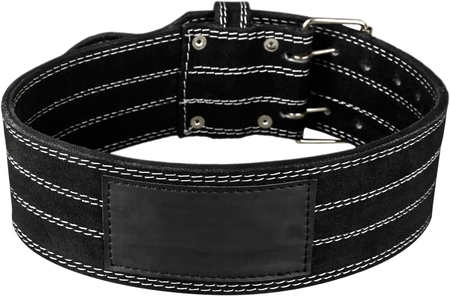 Trousers belt  on a white background.