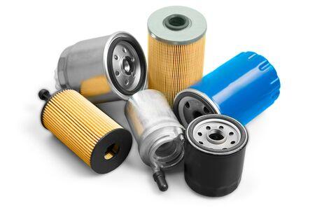 Stapel auto-onderdelen Stockfoto