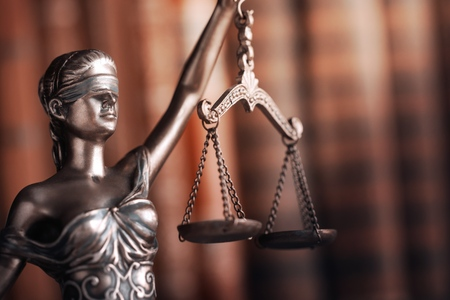 Legal law concept image