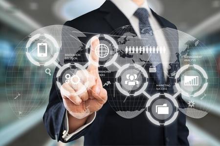 Information Technology Business concept Reklamní fotografie - 95319891