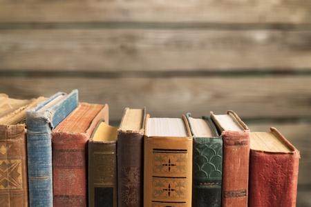 Old Books Background./Old Books Foto de archivo