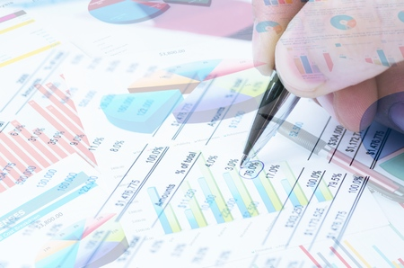 Various type of financial and investment products in Bond market. i.e. REITs, ETFs, bonds, stocks. Sustainable portfolio management, long term wealth management with risk diversification concept. Stockfoto