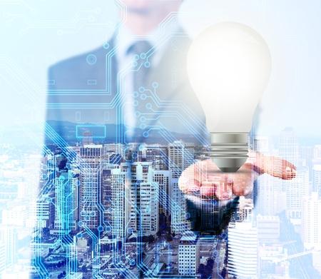 LED lamp of ideas