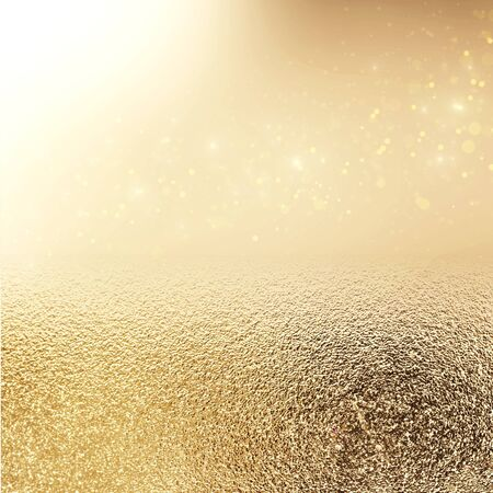 glitter vintage lights background. silver and white. de-focused Stock Photo