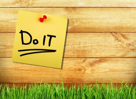 do it! Stok Fotoğraf